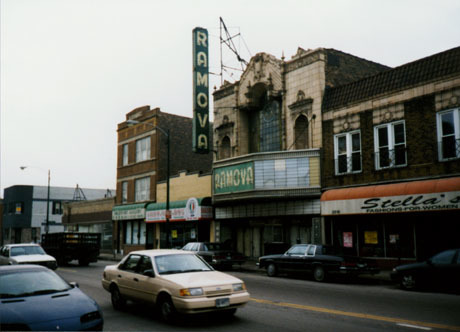 The Ramona when businesses were still operating next-door to it.