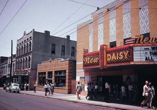 NEW DAISY Theatre, Memphis, Tennessee.