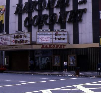 Baronet / Coronet Theatre exterior