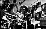 Capitol Theatre  William Street, Perth, WA 1935 - (Capitol Theatre Bio-box) 1935 features Simplex Projectors