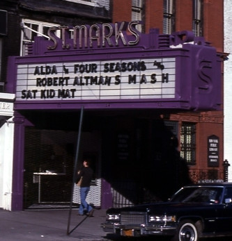 St. Marks Cinema exterior