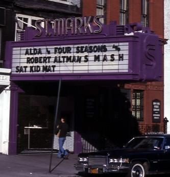 St. Marks Cinema exterior