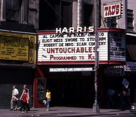 Harris Theatre exterior