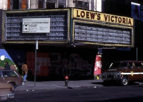 Loew's Victoria Theatre exterior