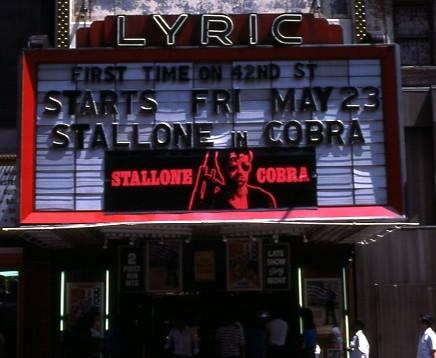Lyric Theatre exterior