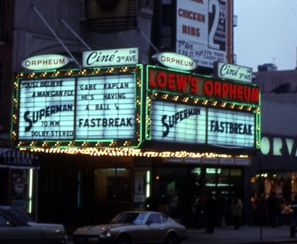 Loew's Orpheum Theatre exterior