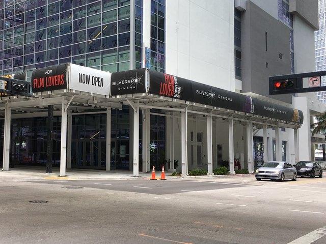 Silverspot Cinema Downtown Miami