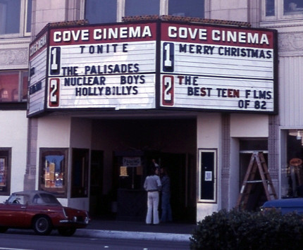 Cove Cinema exterior