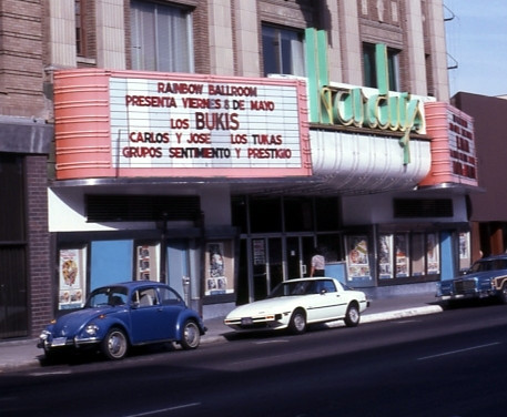 Mexico Theatre exterior