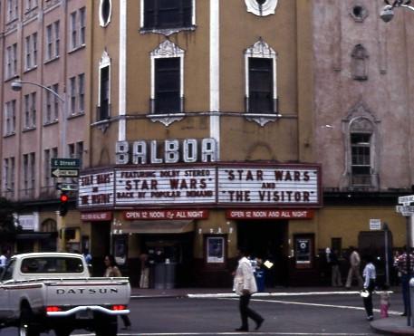 Balboa Theatre exterior