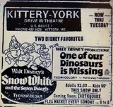 """Kittery-York Drive-In Theatre """"Snow White & The Seven Dwarves"""""""