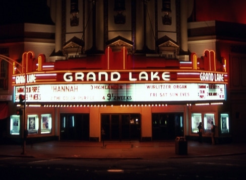 Grand Lake Theatre exterior