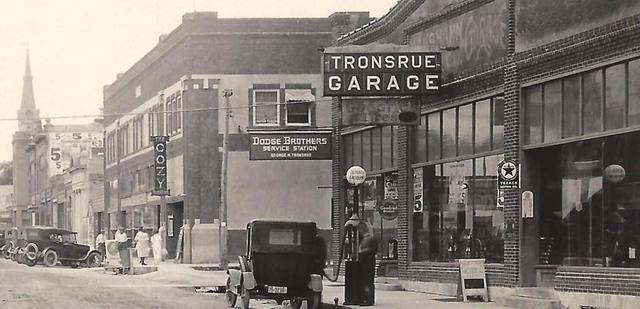 Circa 1920s photo courtesy Hart Mart Facebook page.