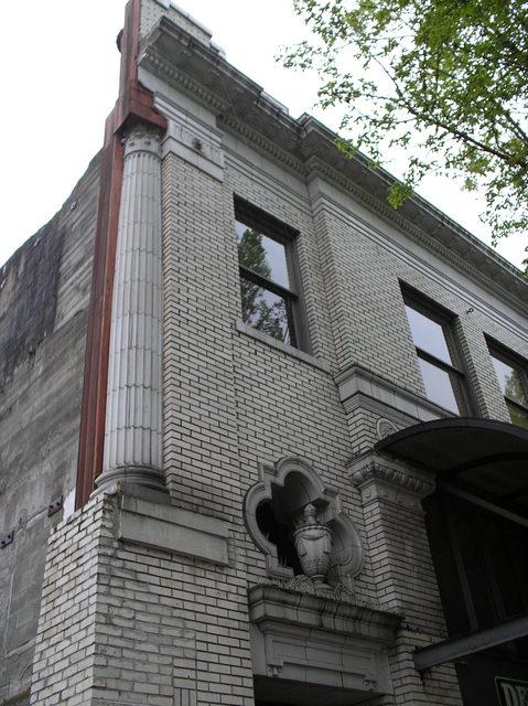 Capitol facade pilaster