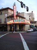 "<p>2007 exterior view of the Bagdad, where we saw ""Children of Men"" that night.</p>"
