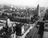 Circa 1930 aerial view via Dale Sauter.