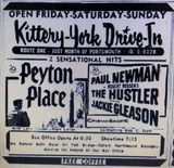 Kittery-York Drive-In Theatre advertisement.