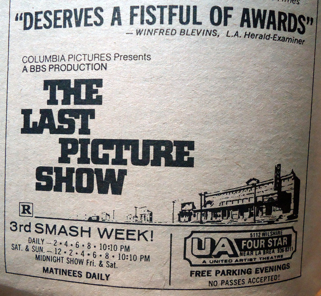 UA's Four Star Theatre newspaper ad