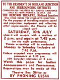 THE RENOWN THEATRE - Midland Junction Perth,  Western Australia  - Change of ownership