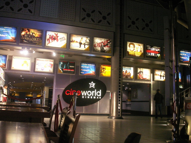 Cineworld Shaftesbury Avenue at the Trocadero in November 2008