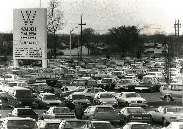 November 1989 photo credit The Buffalo News.
