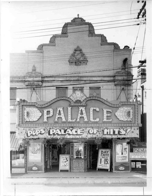 Palace Theatre Circa 1942