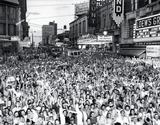 VJ Day August 15, 1945, GSU Digital Collections photo.
