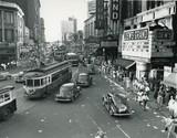VJ Day August 15, 1945, Atlanta History Center photo.