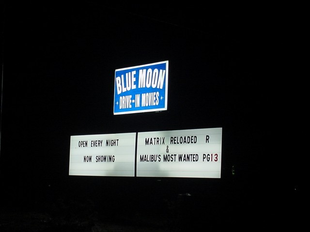 Blue Moon Drive-In