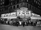 NYC ROXY Island In The Sun premiere 1957