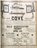 """[""""Cove Theatre""""]"""