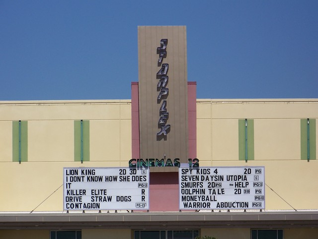 Cinema 12 Marquee