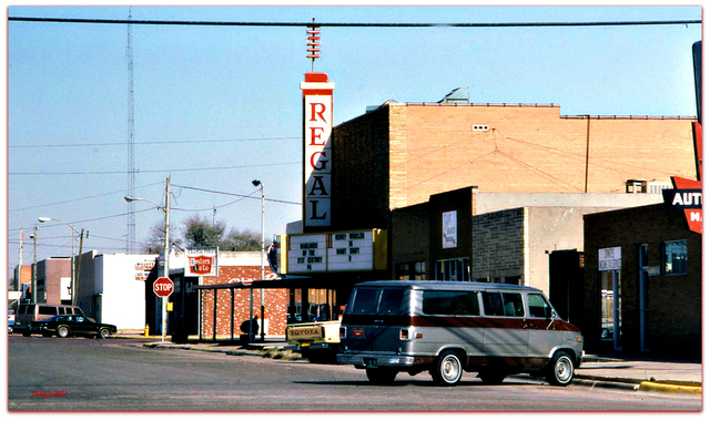Regal© Theater...Brownfield Texas