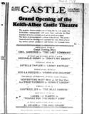 """[""""Castle Theatre""""]"""