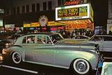 Bentley on 42nd St.  1983 photo credit Marvin E. Newman.