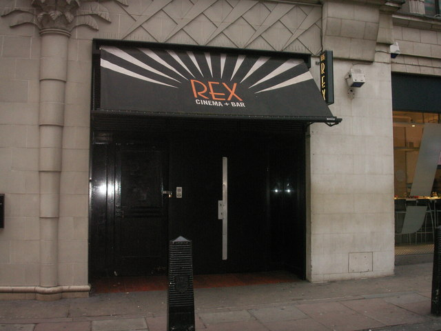 Rex Cinema and Bar in November 2008