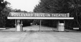 Boulevard Drive-In Press Photo 1980