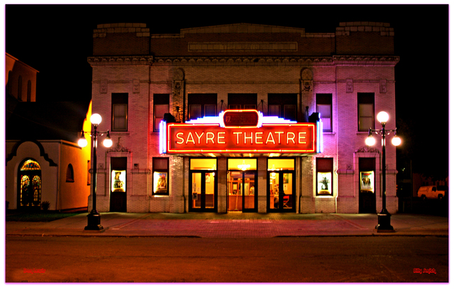 Sayre©Theater...Sayre Pennsylvania