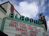 Marquee closeup