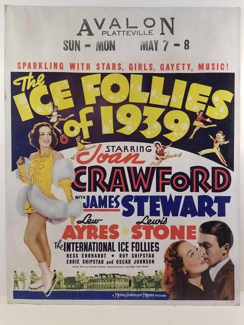1939 poster courtesy Kent Genthe.