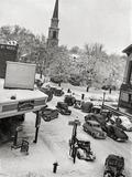 March 1940 blizzard photo via Rick Gandy.