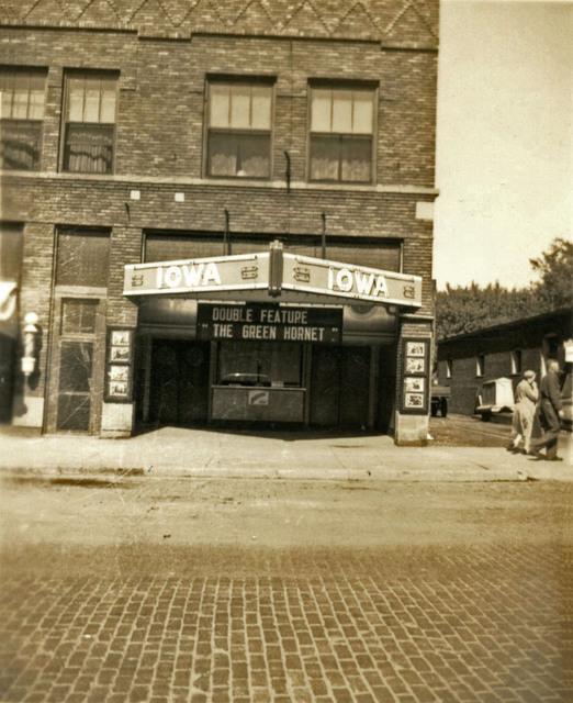 Iowa Theater in 1940