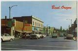 Mid `60s postcard courtesy Vintage Bend Facebook page.