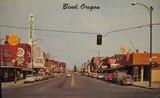 1963 postcard Vintage Bend Facebook page.