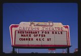 <p>K&D marquee still standing in the 1980s,  photo courtesy Vintage Bend Facebook page.</p>