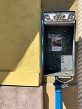 Flower detail on former El Portal pay phone, 2019 photo credit Shayne Ryan.