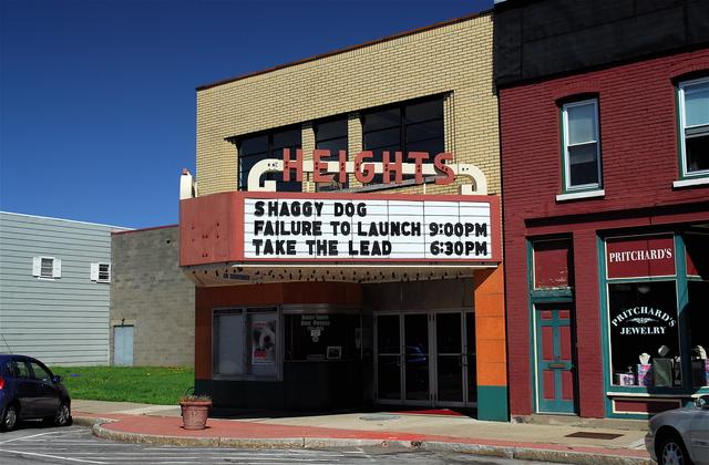 Heights Theatre, Elmira Heights NY.