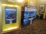 Big Castro Cut Out  'Rocketman'  Display Lobby Poster