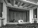 """[""""The stage when the Dreamland Cinema opened in 1935""""]"""