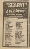 """[""""Ad from Chicago Sun-Times, Monday, January 27, 1986, showing what was playing at the Stratford Square Mall Theaters""""]"""